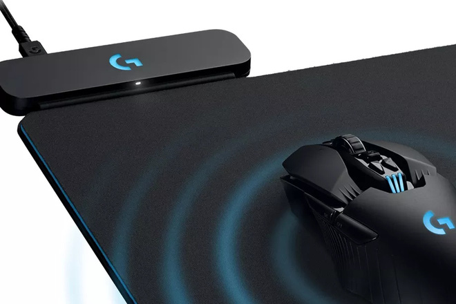 Bàn gi Logitech G PowerPlay Wireless
