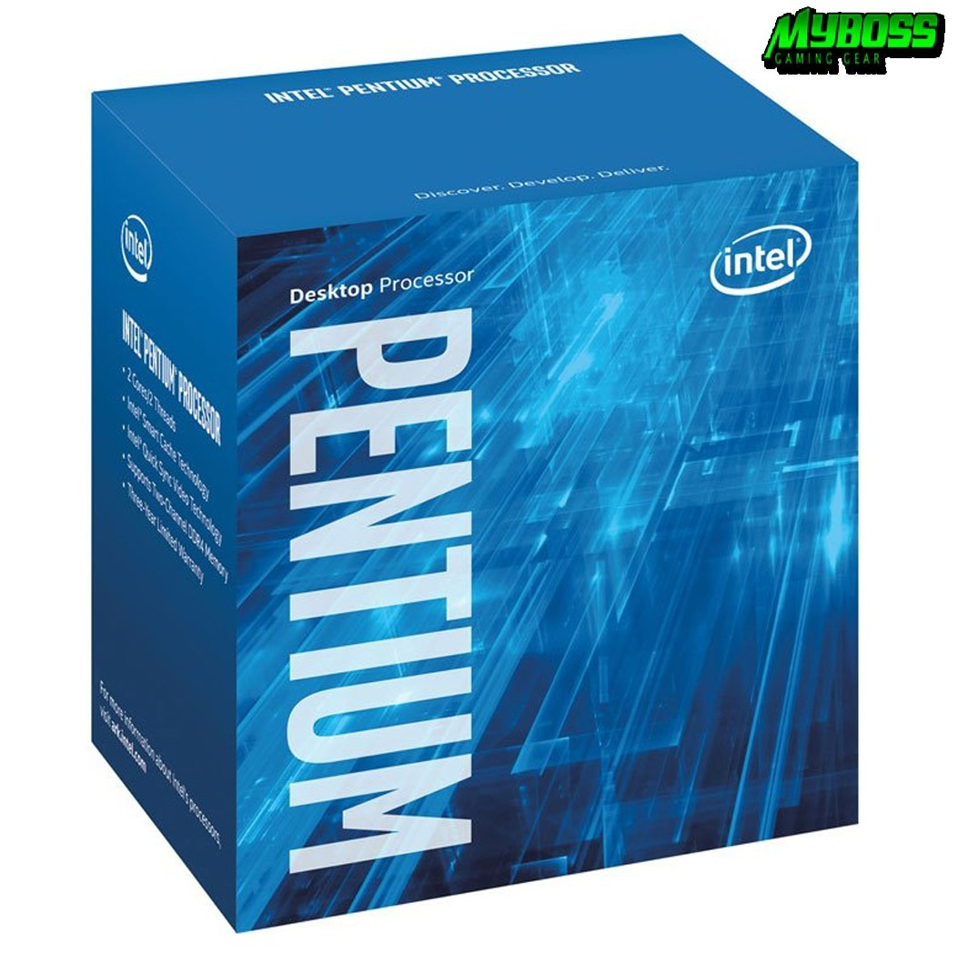 ICPU Intel Pentium Gold G5500 3.8Ghz / 4MB / Socket 1151 v2 (Coffelake)