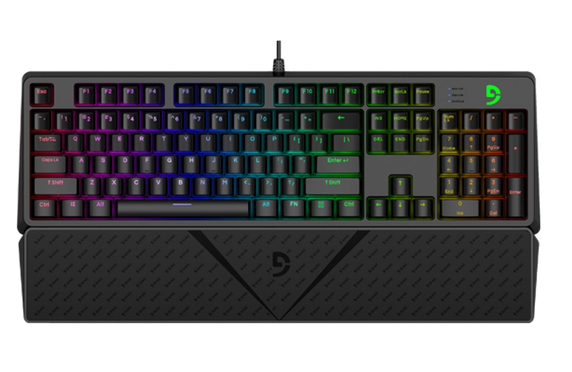 Keyboard Fuhlen G900S RGB Mechanical Cherry Blue/ Brown/ Red Switch Black