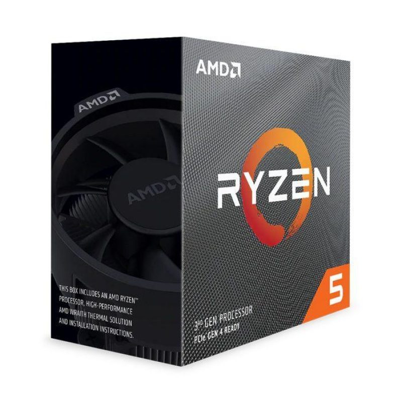 CPU AMD Ryzen 5 3600 3.6 GHz (4.2GHz Max Boost) / 36MB Cache / 6 cores / 12 threads / 65W