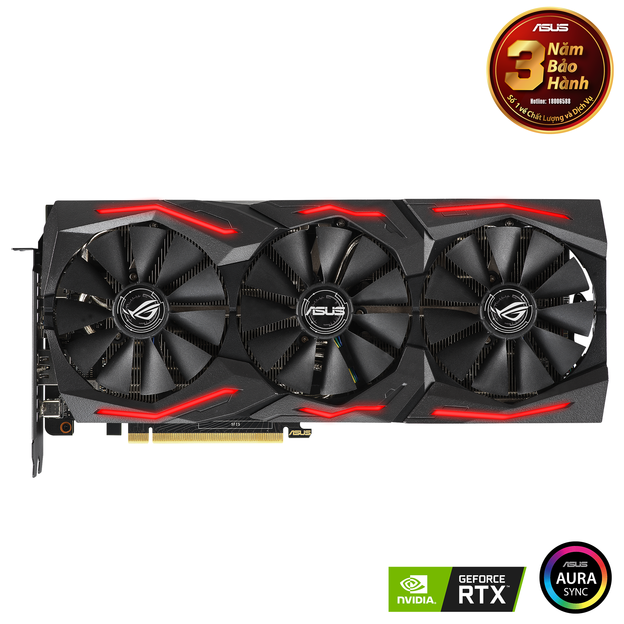 VGA Card Asus ROG-STRIX-RTX 2060S-O8G-GAMING