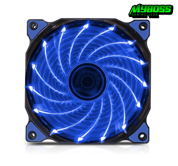 Fan Case Segotep 12CM LED Blue ( 15 Led)