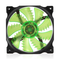 Fan Case Segotep 12CM LED Green