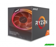 CPU AMD Ryzen 7 2700X (8-core/16-thread, 3.7GHz-4.35GHz, 20MB, 105W TDP)