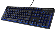 BÀN PHÍM CƠ STEELSERIES APEX M500 US -CHERRY MX BLUE