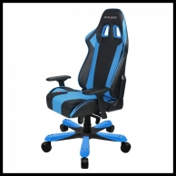 DXRACER KING KF06 BLACK/BLUE/RED/WHITE