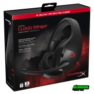 TAI NGHE KINGSTON HYPERX CLOUD STINGER GAMING BLACK