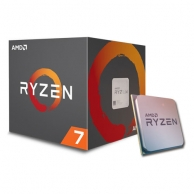CPU AMD Ryzen 7 2700 3.2 GHz (4.1 GHz with boost) / 20MB / 8 cores 16 threads / socket AM4