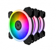 Kit Fan ForGame Led Rainbow RGB ( 3 fan )