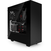NZXT S340 Black-red