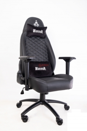 Ghế Warrior Gaming Chair Samurai Series WGC912 - Black Da Thật