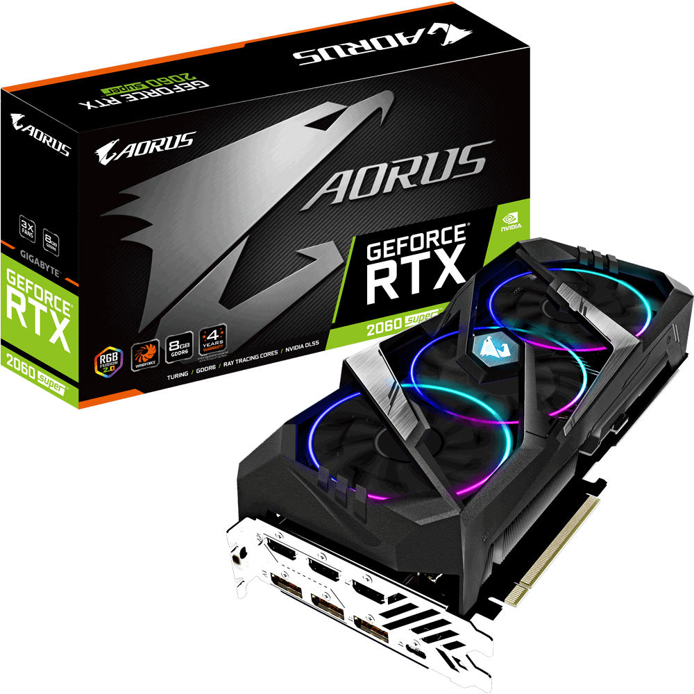 Vga Card Gigabyte AORUS GeForce RTX 2060 SUPER 8G