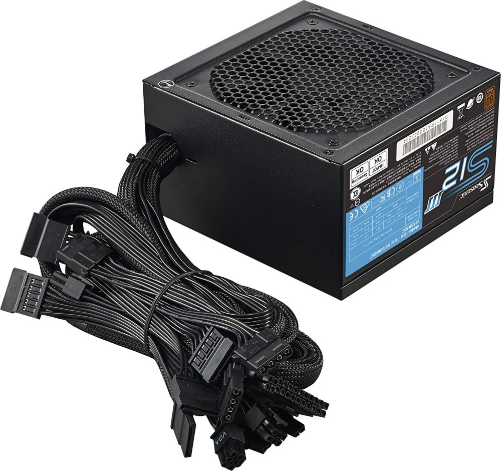 Seasonic 500w S12III-500 - 80 PLUS BRONZE