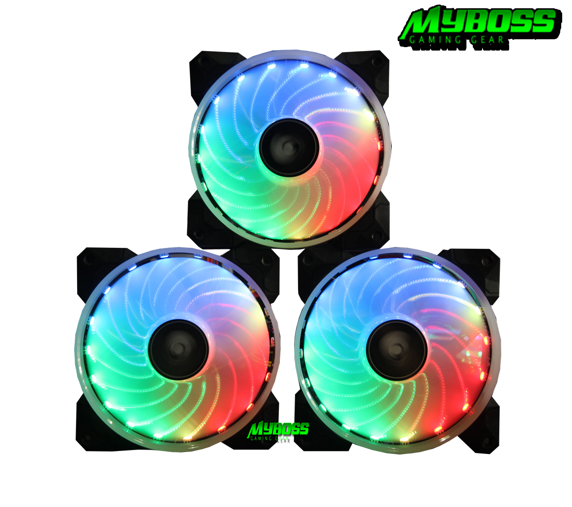 Kit Sama rainbow RGB ( 3 fan )