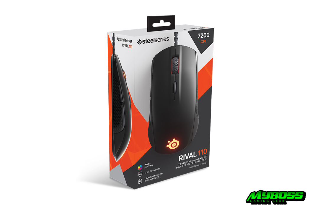 Steelseries Rival 110 Black/ White
