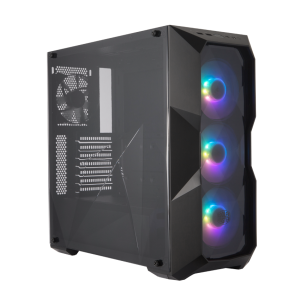 Vỏ Case Cooler Master MasterBox TD500 ARGB (Mid Tower/ Black/ Led ARGB)