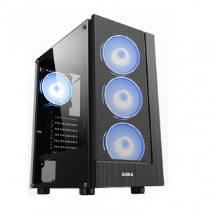 Vỏ Case Sama 3301 (Tặng 3 Fan Led RGB)