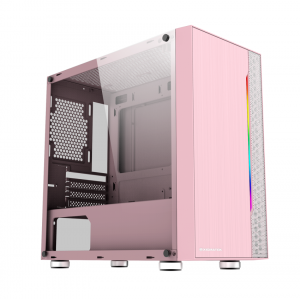 Vỏ Case Xigmatek Gemini Queen (Mini Tower/Màu Hồng)