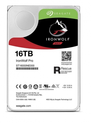 HDD Nas Seagate Ironwolf Pro 16TB (3.5 inch/SATA3/256MB Cache/7200RPM)