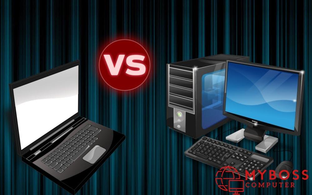 Những điểm khác biệt giữa laptop và pc ?