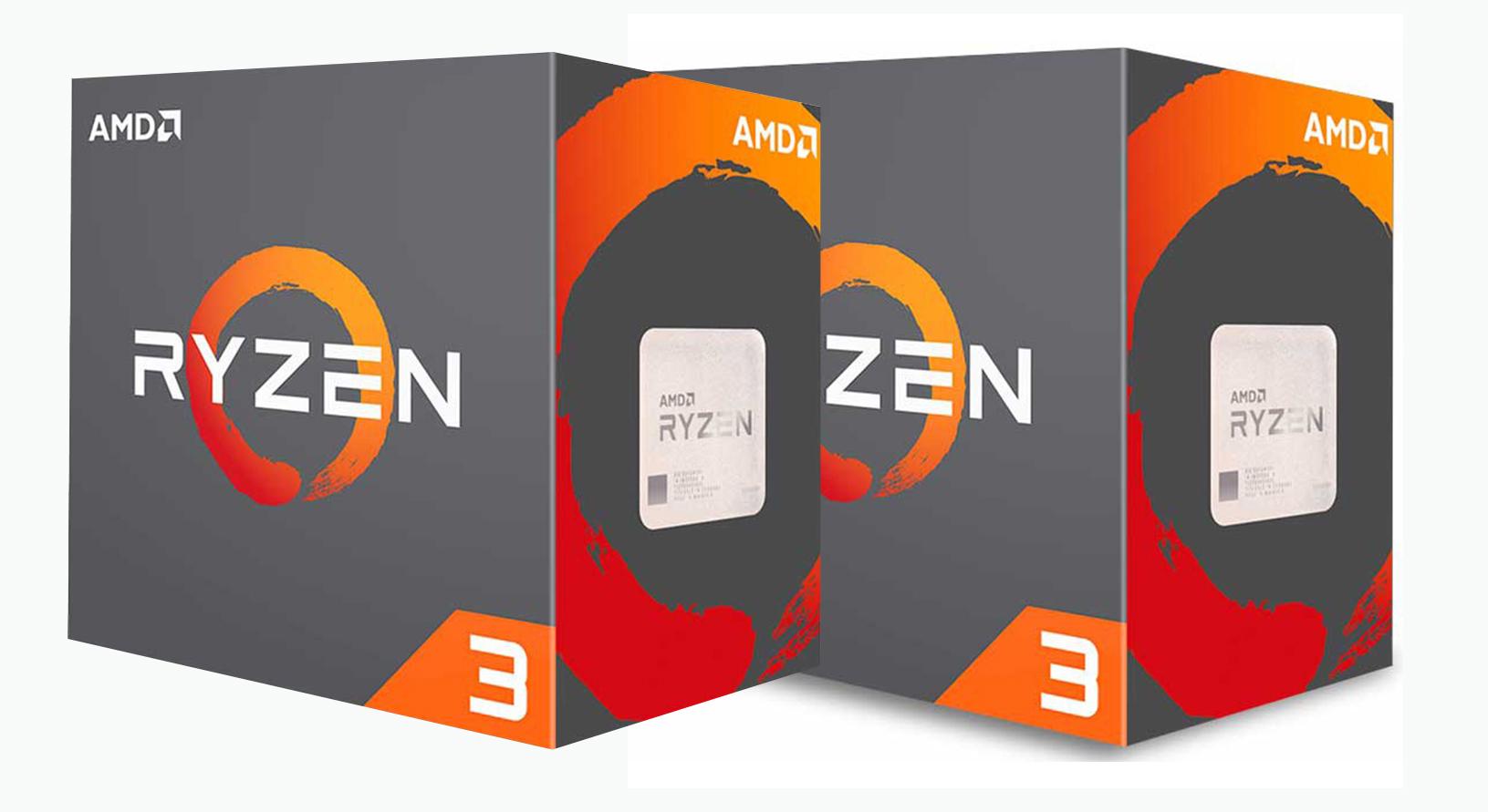 AMD công bố giá bán CPU Ryzen 3 3100 và 3300x