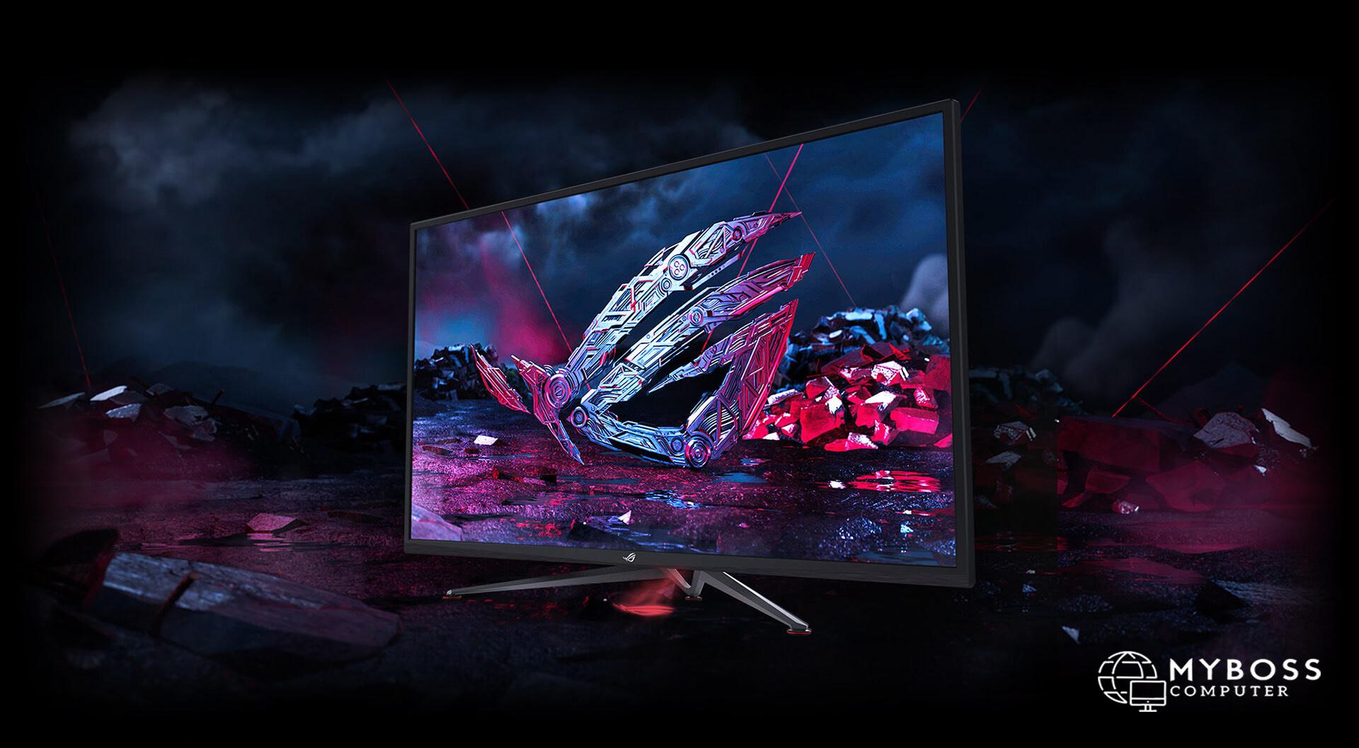 """Asus trình làng mẫu màn hình chơi game """"Siêu khủng"""" ROG Strix XG438Q - chiến game siêu hạng"""