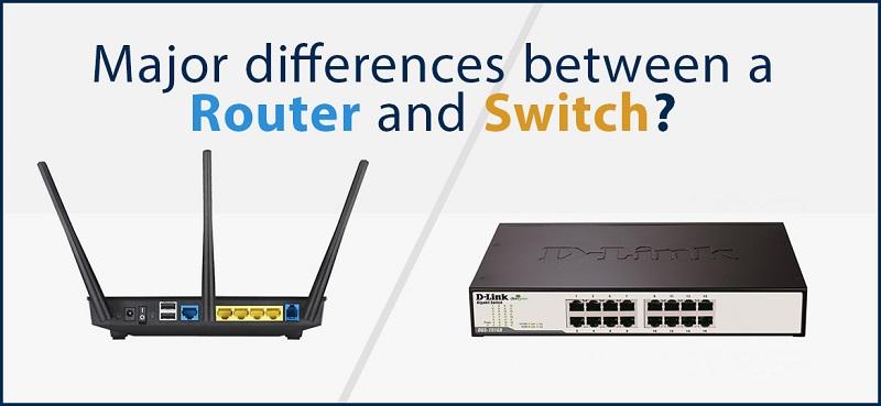 Sự khác biệt giữa Router và Hub